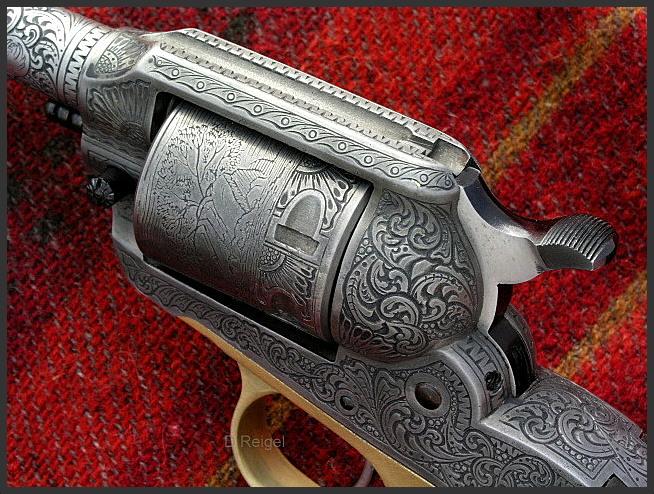 Hand Engraved Ruger Super Bearcat Revolver
