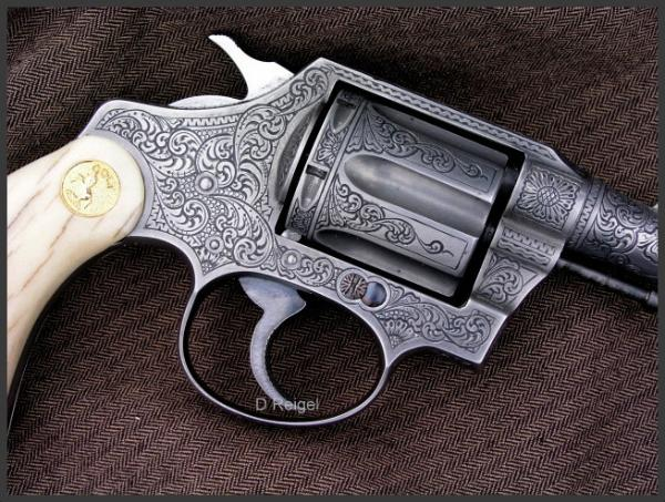 Hand Engraved Colt Detective Special